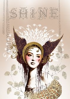 """""""Shine Girl"""" by Anahata Katkin - my absolute fave of her designs!"""