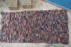 Authentic Moroccan carpet  98x210 cm ref IH12-02