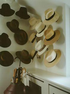 Decoração chapéus