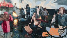 Knee Deep, oil on panel, Teresa Dunn Oil, Deep, Artists, Movies, Movie Posters, Painting, Films, Film Poster, Painting Art
