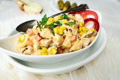 Szybki obiad jednogarnkowy, danie jednogarnkowe, makaron, szybki obiad, co na obiad Tofu, Risotto, Lunch, Ethnic Recipes, Eat Lunch, Lunches