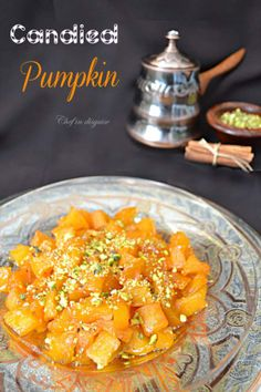 This is a Turkish dessert called Kabak tatlisi (candied pumpkin).