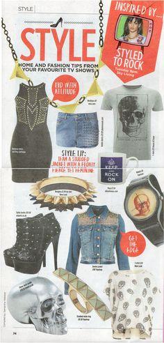 dwell in The Sun's TV Magazine