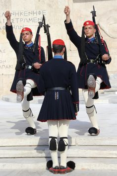 Het is weer tijd voor de wisseling van de wacht - Athene