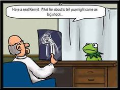 Kermit the Frog was the cause for a hostage situation!                                                                                                                                                                                 More