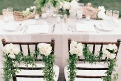 Arroyo Trabuco Golf Club // Photography: Picotte Weddings // Event Planning: Brooke Keegan Weddings and Events // Floral Design: Elegant by Design // Wedding Garden Reception Sweetheart Table