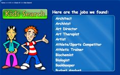 CareerSmarts Task Web-Based Career Exploration Elementary/middle school career lessons using videos, search engine, and gamification. Professional Counseling, Career Counseling, Teaching Career, Career Education, Elementary School Counseling, School Counselor, Career College, Career Exploration, Guidance Lessons
