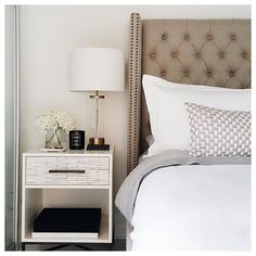 """Bedroom complete! #ByMyBed Tuscan Fig Candle from @atelierlumira / """"The Interestings"""" by Meg Wolitzer / A notebook  for random ideas and a antique dish from Paris that holds my favourite rings. #home #decor #nystandard"""