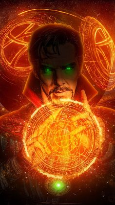 Doctor Strange Magic Art iPhone Wallpaper - Best of Wallpapers for Andriod and ios Marvel Avengers, Memes Marvel, Marvel Films, Marvel Art, Marvel Characters, Marvel Doctor Strange, Doc Strange, Strange Magic, Doctor Strange Powers