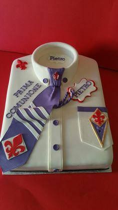 Torta prima comunione Fiorentina Torta uomo