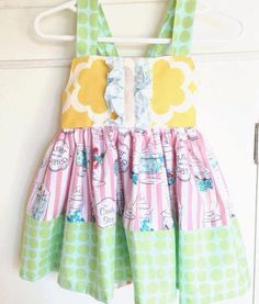 Your place to buy and sell all things handmade Little Girl Dresses, Girls Dresses, Summer Dresses, Cute Outfits For Kids, Cute Kids, Well Dressed Wolf, Girls Boutique, Toddler Girl, Girl Outfits