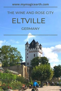 Eltville from the Rhine Valley is a romantic rose city. The area also produces many fine German wines and is a popular holiday destination among the locals. #Germany #eltville #Europe #traveltips #weekendtrip #德国 #Deutschland #roadtripitinerary #roadtrip #rheingau #rhinevalley #rhine#rhein #winecity#winetown #rosecity #rose