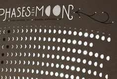 2013 Screen Printed Lunar Calendar