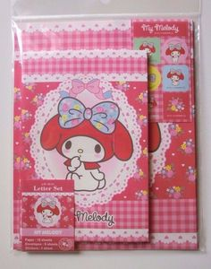 Sanrio My Melody Mymelo Letter Set Ribbon Brand New #Sanrio - From Jen