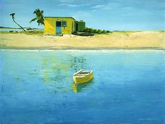Caribbean Gold: Laurie Regan Chase: Giclee Print - Artful Home