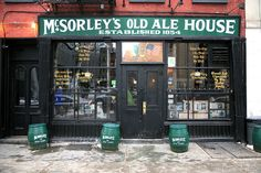 McSorley's Old Ale House, 15 E 7th St. (East Village) | 44 Amazing NYC Places That Actually Still Exist