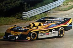 Mark Donohue 917 30  Flat 12 5.0 twin turbo, in qualifying trim could put out 1500hp. In 1973.