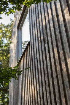Another type of vertical cladding (lots of nails)!