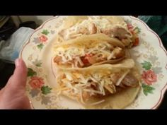 The rice mix contains chicken fat and milk so these tacos are not vegetarian but they do provide a quick, filling meatless meal. Thanks to RoxiBori Boriqua f. Cheap Meals To Make, Food To Make, Easy Meals, Healthy Dinner Recipes, New Recipes, Bread Recipes, Dinner On A Budget, Spanish Rice, 30 Minute Meals