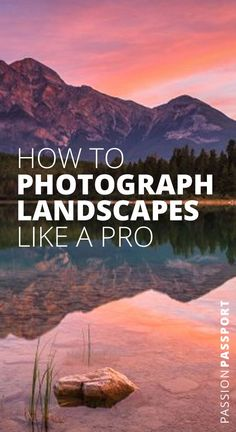 Plan your session carefully. Bring the right gear. These tips and more from professional landscape photographer Sergio Lanza are just what you need to take your nature, outdoor and travel photography to the next level. Read our full interview Travel Photography Inspiration, Travel Photography Tumblr, Photography Beach, Landscape Photography Tips, Photography Basics, Types Of Photography, Photography Lessons, Outdoor Photography, Landscape Photographers