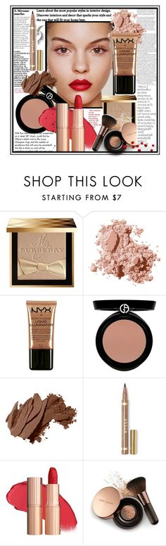 """BEAUTY ELEGANT"" by licethfashion ❤ liked on Polyvore featuring beauty, Tiffany & Co., Burberry, Bobbi Brown Cosmetics, NYX, Giorgio Armani, Stila, Nude by Nature, By Terry and Beauty Is Life"