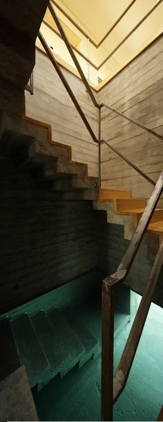 bunker-house #stairs