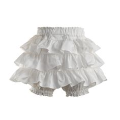 Frill Cotton Bloomers at Rachel Riley USA