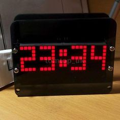 #Ds3231 practical #electronic diy dot #matrix led clock kit digital alarm date c7,  View more on the LINK: 	http://www.zeppy.io/product/gb/2/401019806719/