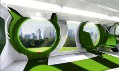 Alstom Loop Train-Tram By Alex Nadal  | Discover futurism at www.futuristmm.com | @missmetaverse | #futurist #futurology #femalefuturist #Futurista #futuristic Futuristic City, Futuristic Architecture, Future Transportation, Transportation Technology, Eco City, Futuristic Furniture, Public Transport, Urban Design, Innovation Design