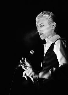 Bowie: The Thin White Duke or my favorite period... 'The Grim Thin White Duke'