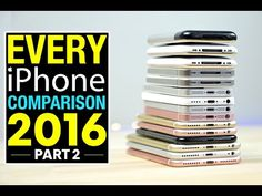 Everything Apple Pro did a side-by-side speed test comparison of every model of the iPhone from the original through the recently released iPhone 7 line. Android Camera, Camera Apps, Iphone Camera, Iphone 7 Plus, Iphone 2, Iphone Photography, Mobile Photography, Photography Tips, Iphone Comparison
