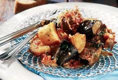 Οι Συνταγές της Μαμάς   Argiro.gr Greek Cooking, Food Categories, Yams, Greek Recipes, One Pot Meals, Sheet Pan, Food To Make, Dessert Recipes, Desserts