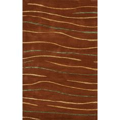 Dalyn Rug Co. Bella Brown Area Rug Rug Size: 9' x 12'