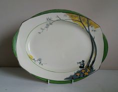 "Burleigh Ware ""Pan"" Meat Serving Platter 