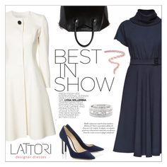 """LATTORI dress"" by water-polo ❤ liked on Polyvore featuring Lattori, Carolina Herrera, Givenchy, Sole Society, Bobbi Brown Cosmetics, polyvoreeditorial and lattori"