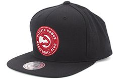 ORIGINALE Mitchell /& Ness Detroit Pistons Snapback Cap Wool Solid Rosso