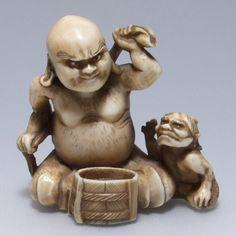 日本 根付 骨董 - Google 検索