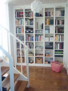 Engelska villan: Platsbyggd bokhylla