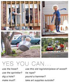 Try These Backyard Play Ideas To Be The Cool Kids On Block