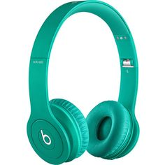 Beats by Dre Solo HD Drenched In Color Headphones found on Polyvore