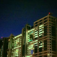#nightlydose of #fujitvbuilding