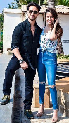 Shraddha Kapoor and Tiger Shroff Beautiful Photo Bollywood Couples, Bollywood Stars, Shraddha Kapoor, Deepika Padukone, Best Hero, Tiger Shroff, Beautiful Bollywood Actress, Wedding Preparation, Hayley Atwell