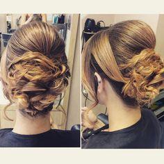 #hairup #bridalhair #promhair #hairstyle