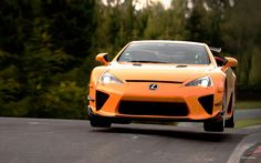 Lexus LFA- they stopped making them this year. So sad... Almost cried... Lol