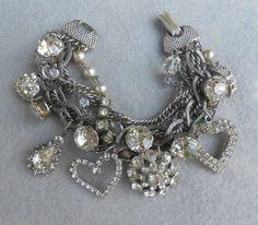beautyblingjewelry:  Rhinestone Assemblag fashion love