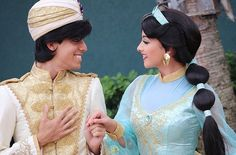 Aladdin And Jasmine, A Whole New World, Disney Parks, Orlando, Disneyland, Cosplay, Princess, Disney Characters, Photography