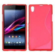 Coque Xperia Z1 - Sline Rouge  4,99 €