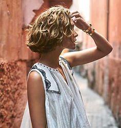 Los Mejores Peinados  Elegantes cortes de pelo corto para rizado del pelo ondulado  Los Mejores Peinados