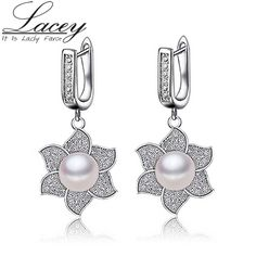 Women 925 Sterling Silver Natural Pearl Stud Earrings //Price: $20.99 & FREE Shipping //     #fashionaccessories