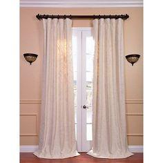 Aurora Multicolor Embroidered Cotton Crewel Curtain Sample Swatch Exclusive Fabrics & Furn